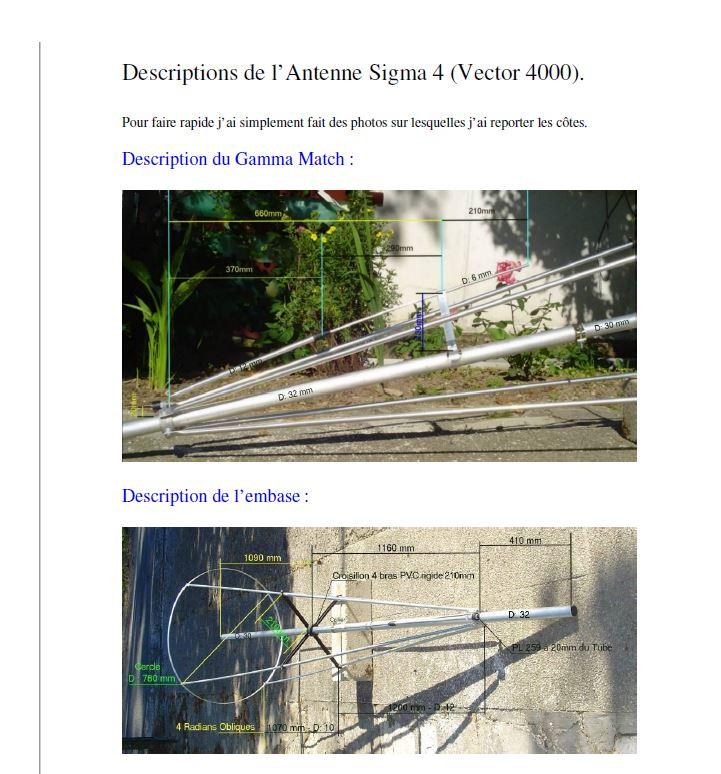 Avanti Sigma 4 (Antenne fixe) V4000110