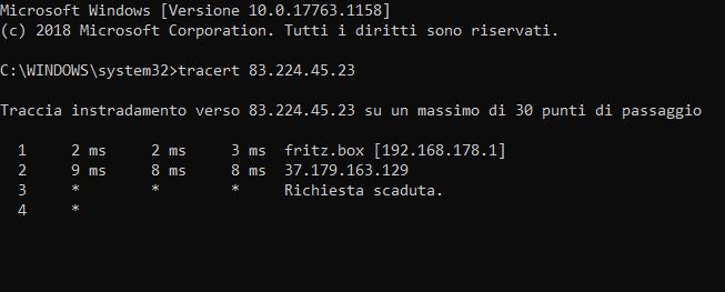 Connessione internet e voip con il 7530 e vodafone adsl2+ 20 mb. Cattur12