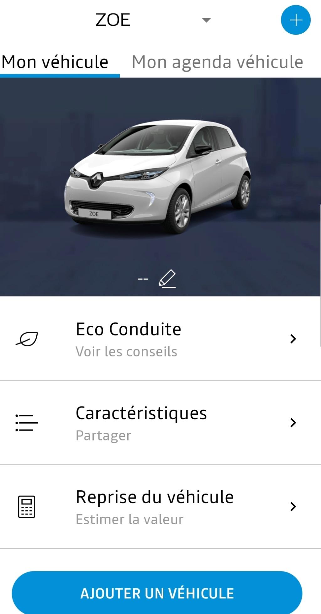 Problème application Android My Renault Smarts16
