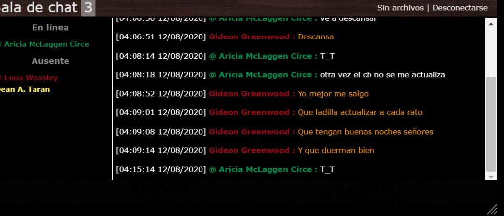 La chat box no actualiza mensajes Chat_210
