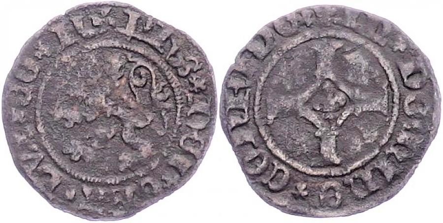 Double Mite de Philippe le Beau. Gand vers 1490 14388510