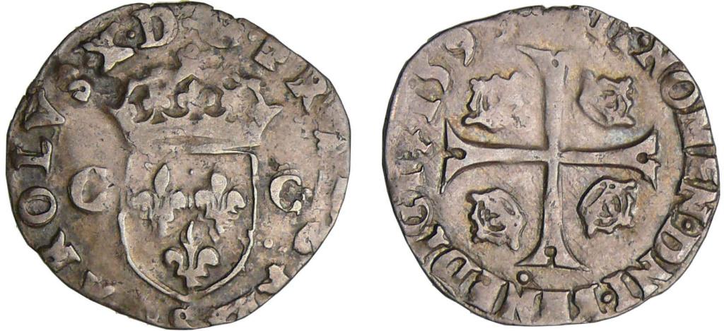 Douzain Henri IV aux 2H de Riom 1594 : demande de précision sur les différents 16033610
