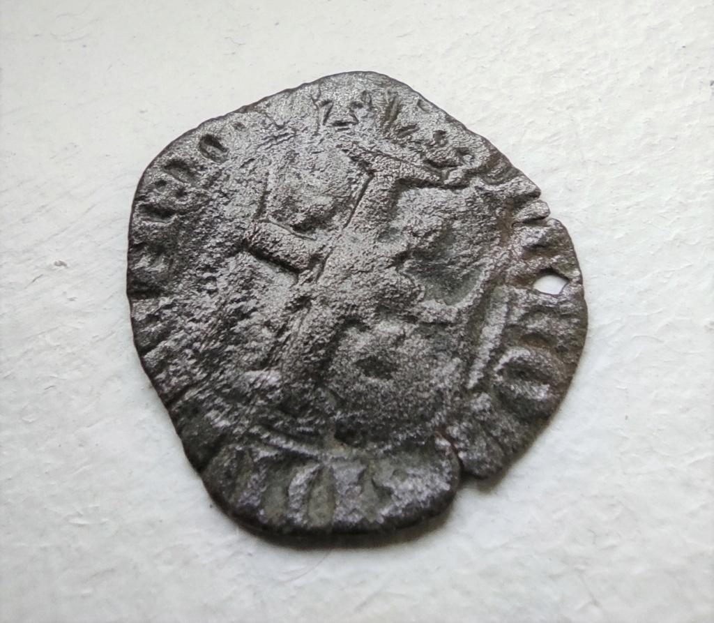 """Féodale, ou autre ? C'est """"autre"""" : une royale d'Henri V de Lancastre (niquet au léopard, Rouen) 16151013"""