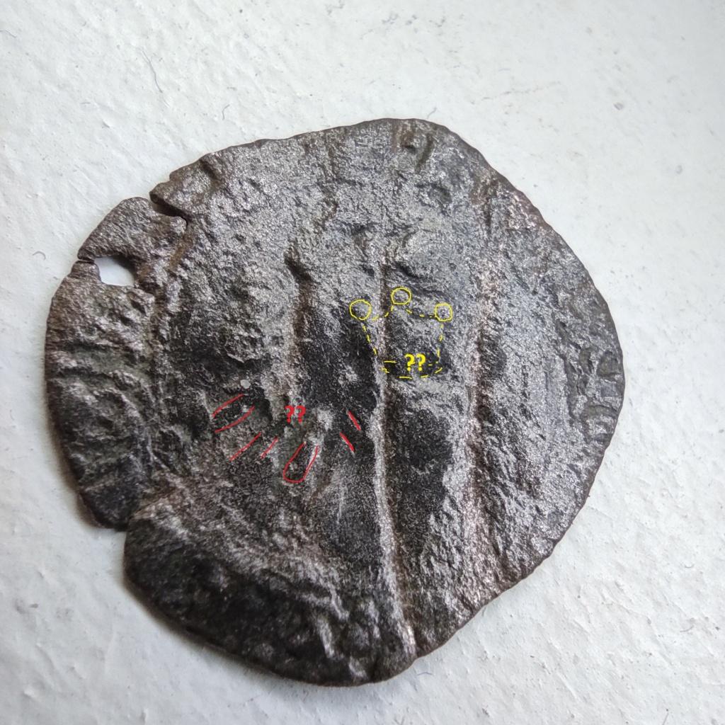 """Féodale, ou autre ? C'est """"autre"""" : une royale d'Henri V de Lancastre (niquet au léopard, Rouen) 16151110"""