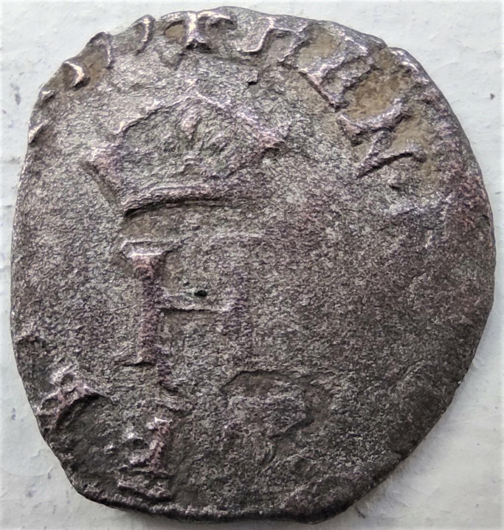 Liard à l'H couronnée de Henri III de l'atelier de Bourges (Y et différent au O entre 4 pts) de 1579 16178010