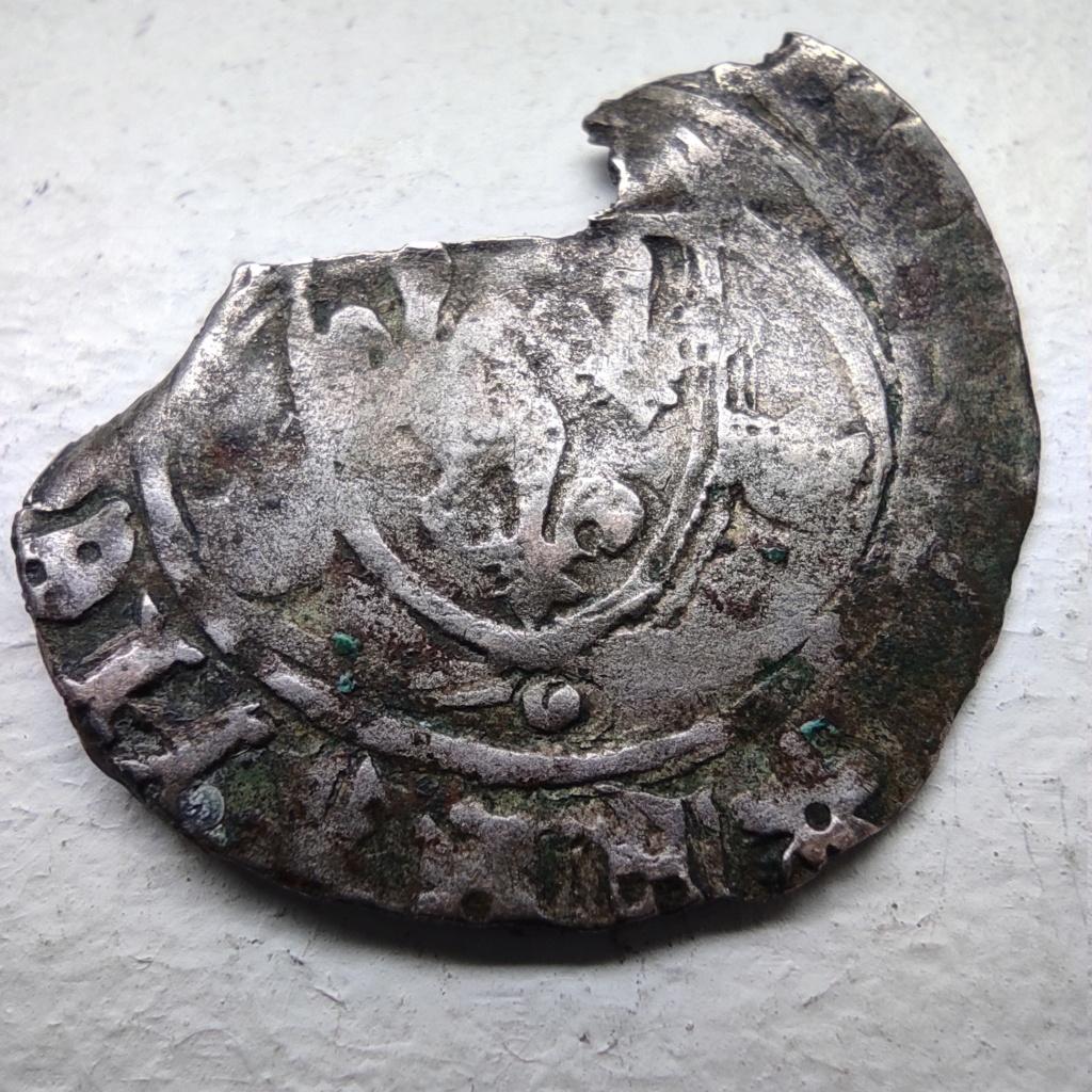 Fragment peut-être encore exploitable : Blanc de Louis XI, frappé à Limoges à confirmer... 16180711