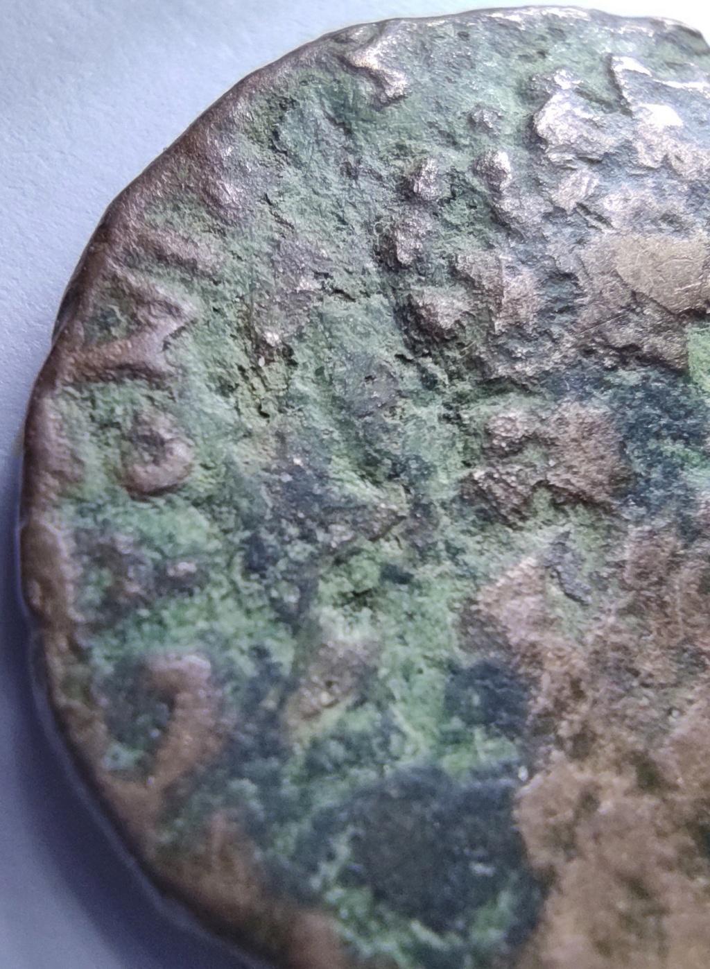 As (un peu dégradé !) d'Antonin le Pieux, Felicitas au revers ? 16185811