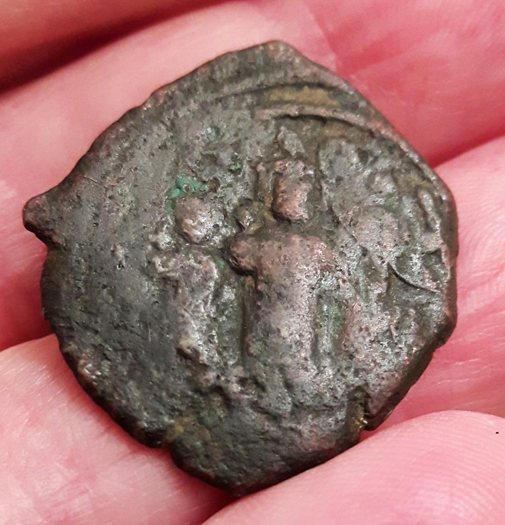 Follis byzantin de Nicomédie, sans doute pour Héraclius ... 20201014