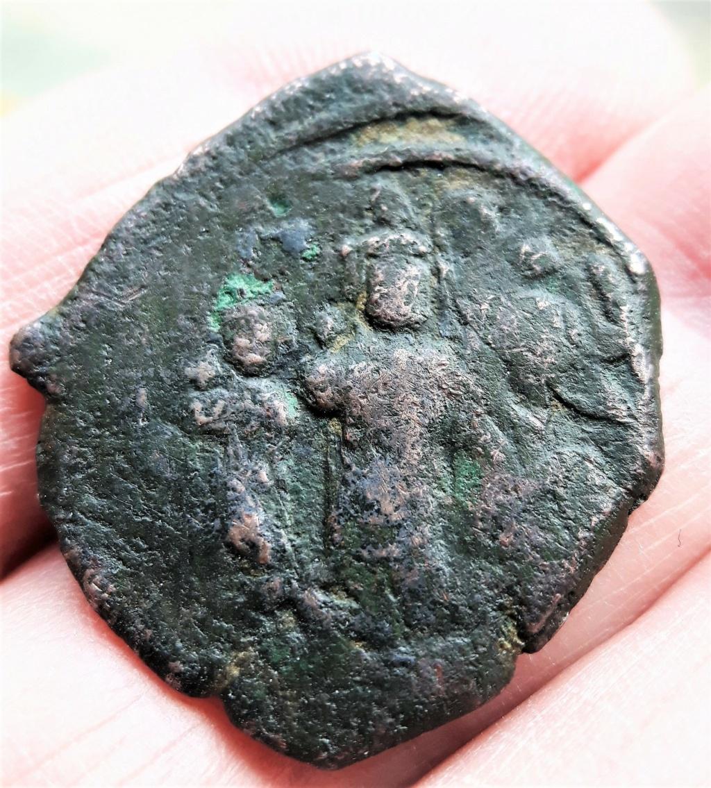 Follis byzantin de Nicomédie, sans doute pour Héraclius ... 20201016