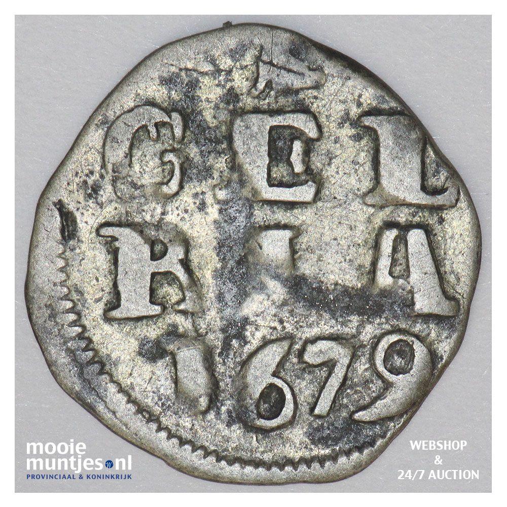 Double Stuiver de la Généralité des Provinces-Unies (Pays-Bas), peut être Gueldre 1678-1680 3815410