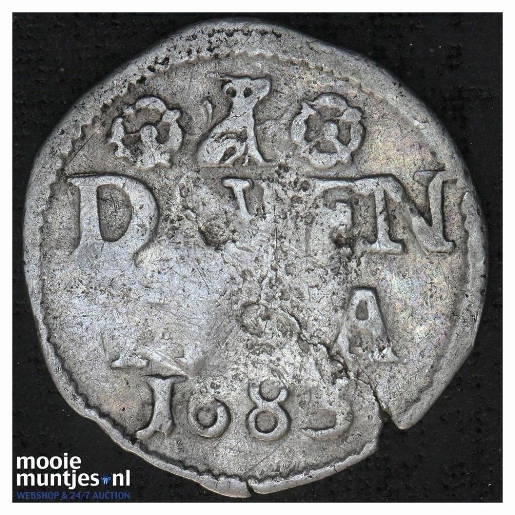 Double Stuiver de la Généralité des Provinces-Unies (Pays-Bas), peut être Gueldre 1678-1680 4954710