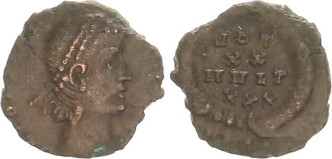 Nummus de CONSTANS sans doute émis en Cyzique (T surélevé en finale de MVLT au revers) 53511_10