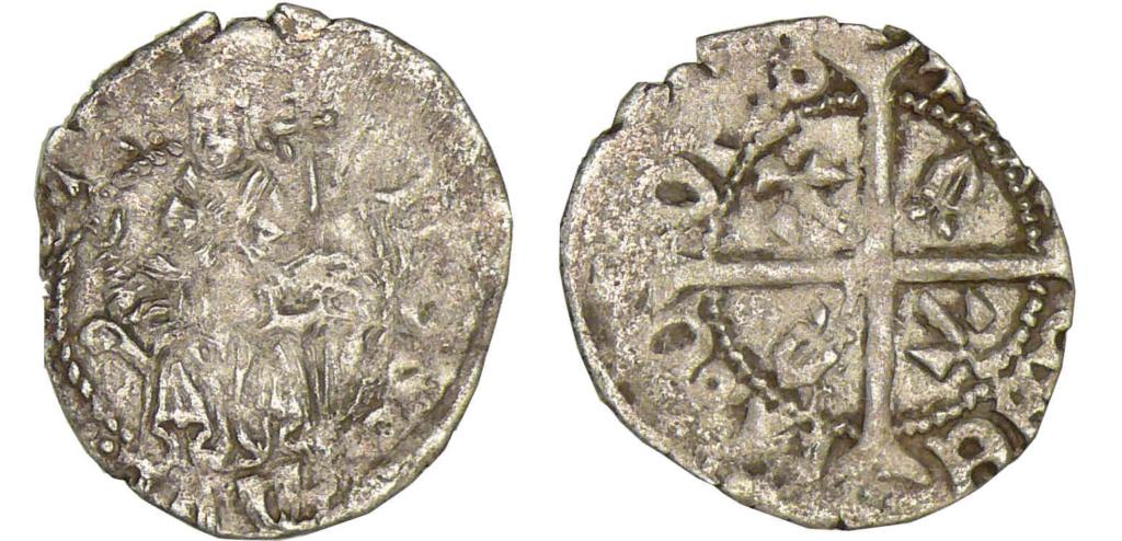 Double denier provençal, Archevêché d'Arles, famille Cibo ... 90174610