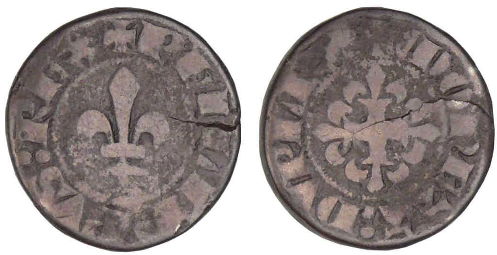 Piéfort du Double Parisis, 2ème type, de Philippe VI de Valois ? A0157310