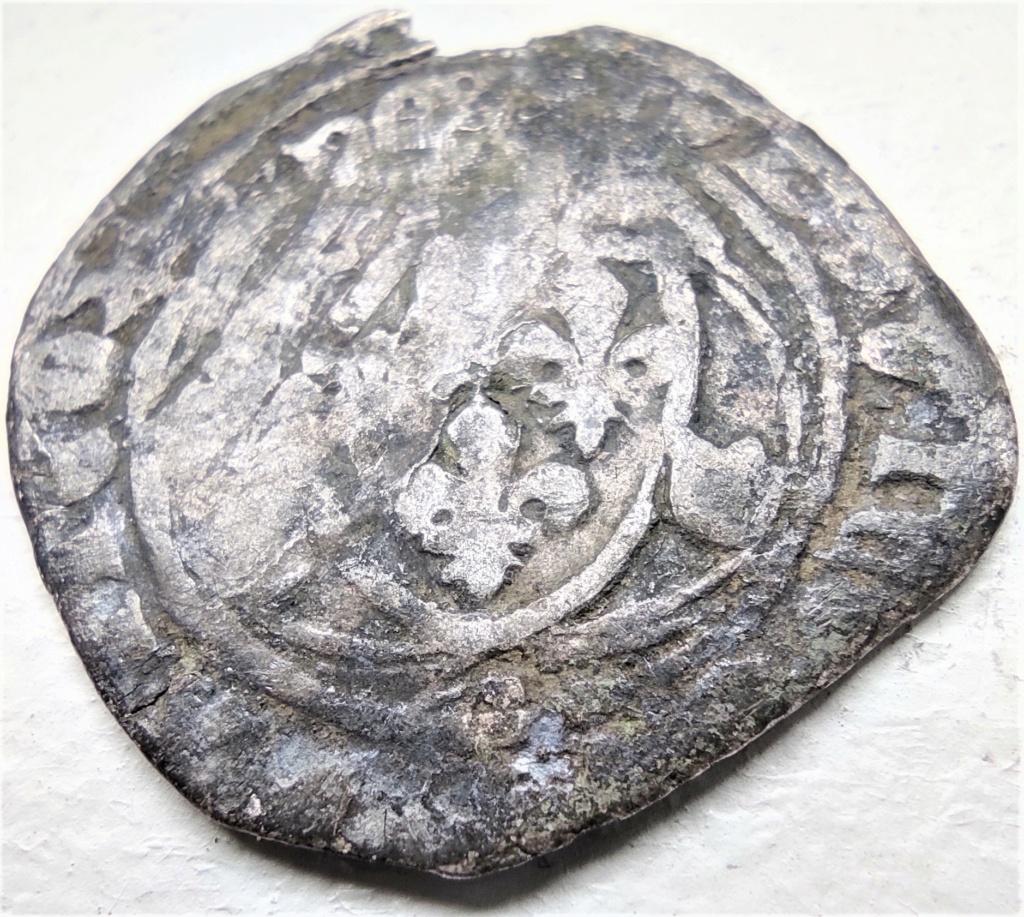 Blanc à la couronne de Louis XI, atelier à déterminer... A12_cl10