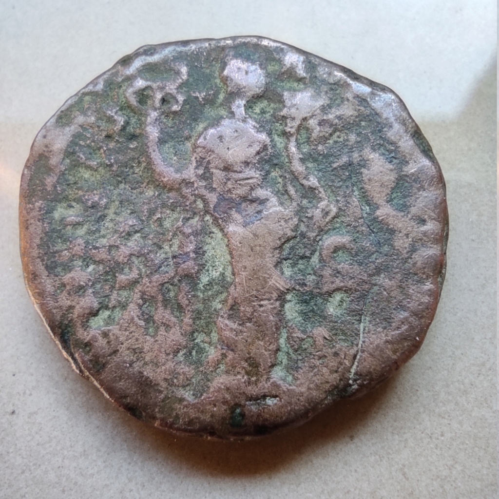 As (un peu dégradé !) d'Antonin le Pieux, Felicitas au revers ? Autre_13