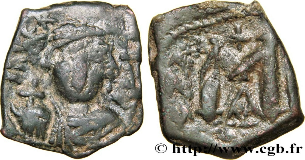 MONNAIE BYZANTINE -CONSTANT II - COSTANTINOPLE Bby_3510