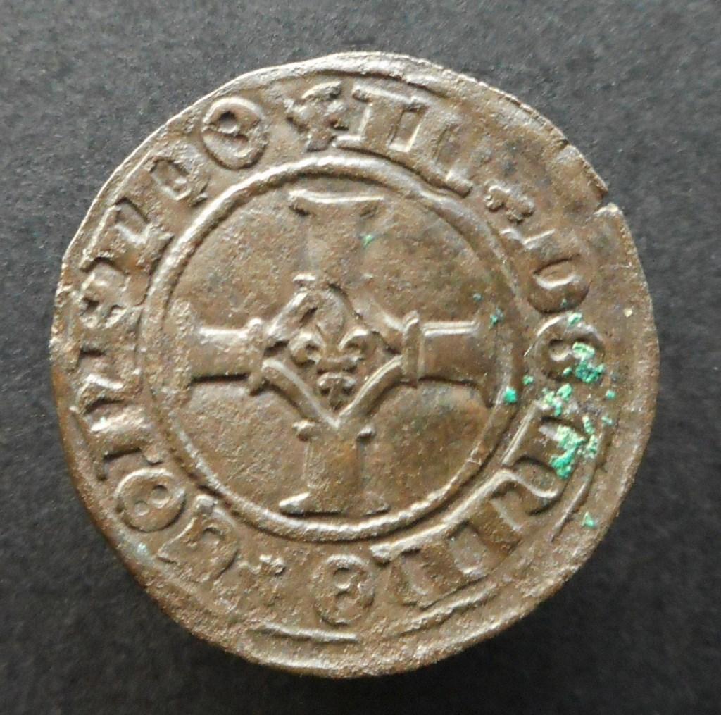 Double Mite de Philippe le Beau. Gand vers 1490 C3dd2d10