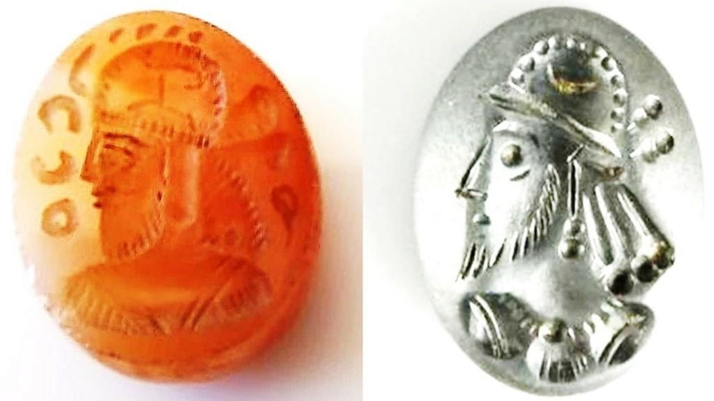 Intaille de style Sassanide, à déterminer SVP Compar15