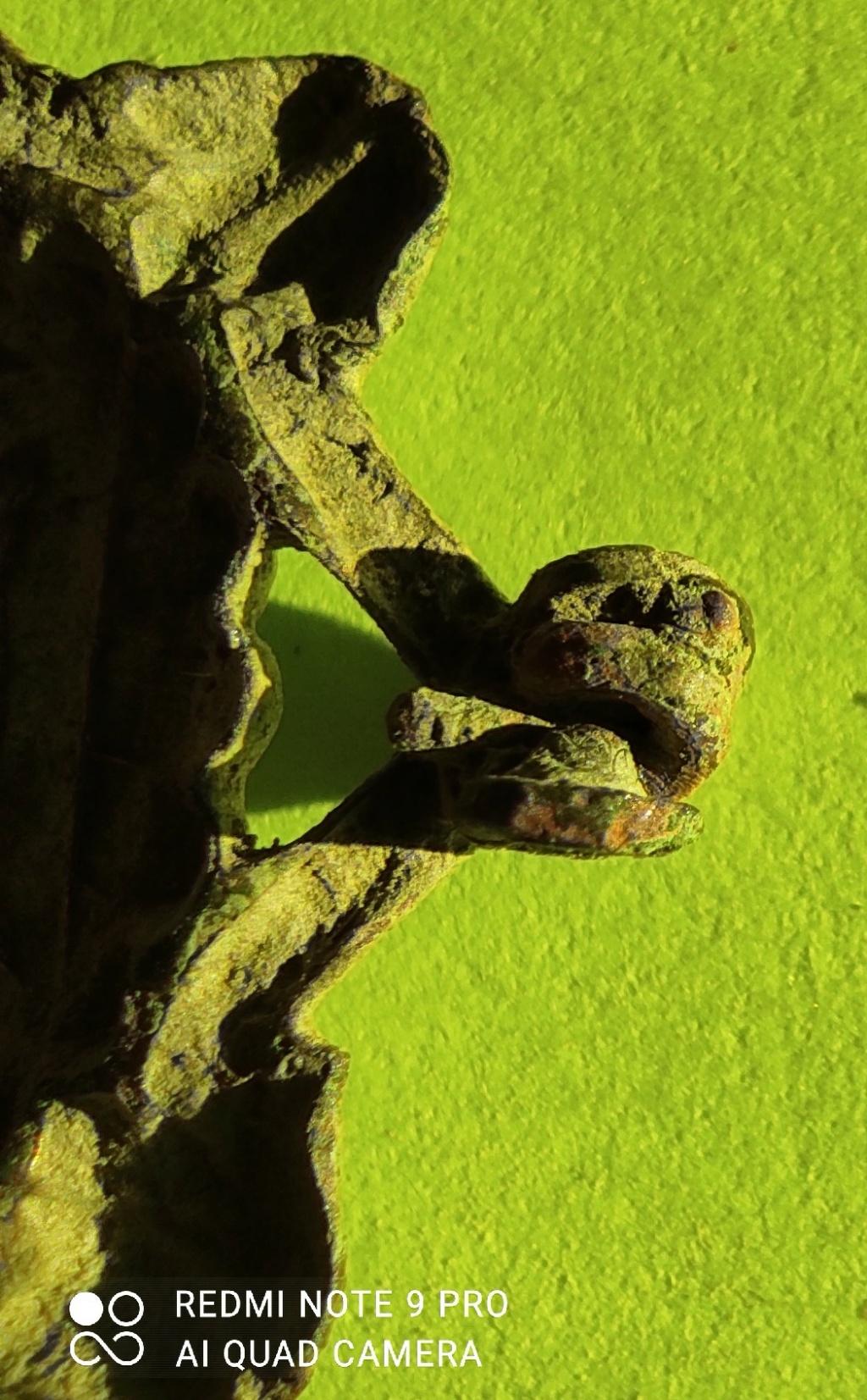 """Probablement petite broche ancienne, type """"héraldique"""", fin XVIIe - début XVIIIe Cotzo_13"""