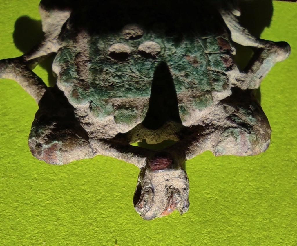 """Probablement petite broche ancienne, type """"héraldique"""", fin XVIIe - début XVIIIe Cotzo_14"""