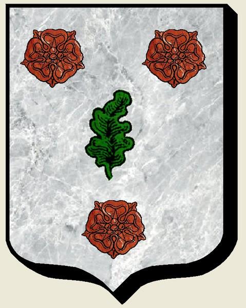 """Probablement petite broche ancienne, type """"héraldique"""", fin XVIIe - début XVIIIe De_la_10"""