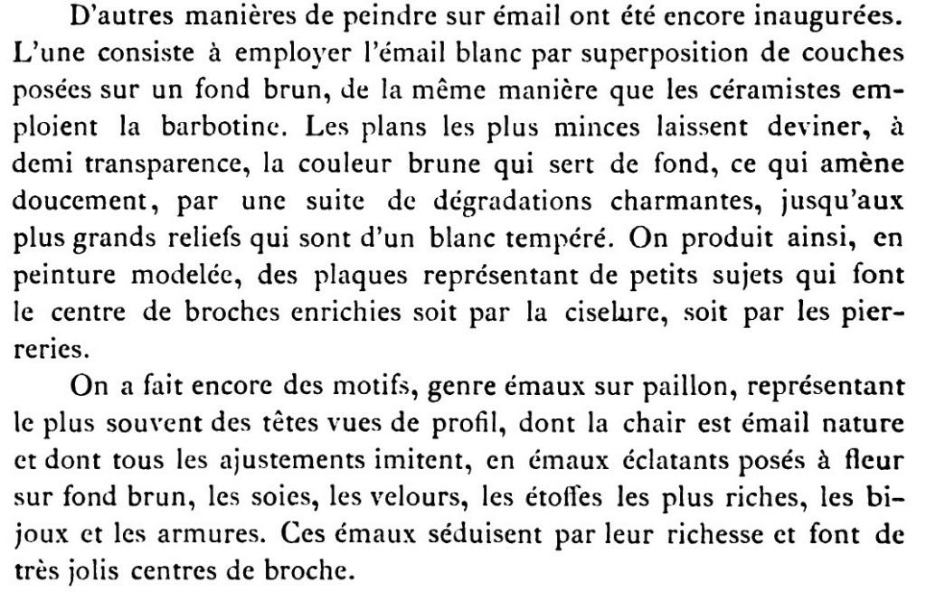 """Probablement petite broche ancienne, type """"héraldique"""", fin XVIIe - début XVIIIe Email_10"""