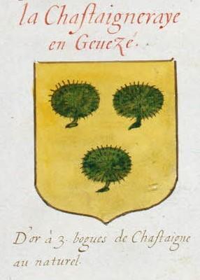"""Probablement petite broche ancienne, type """"héraldique"""", fin XVIIe - début XVIIIe Extrai13"""