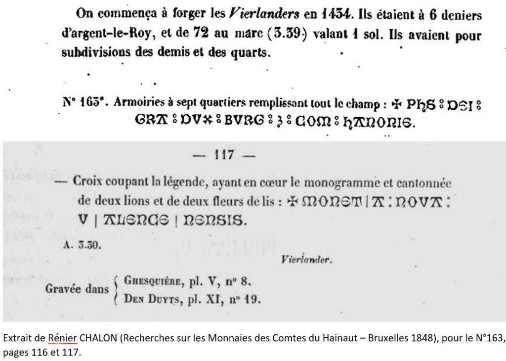 """Double Gros """"Vierlander"""" de Philippe Le Bon, Hainaut... Extrai15"""