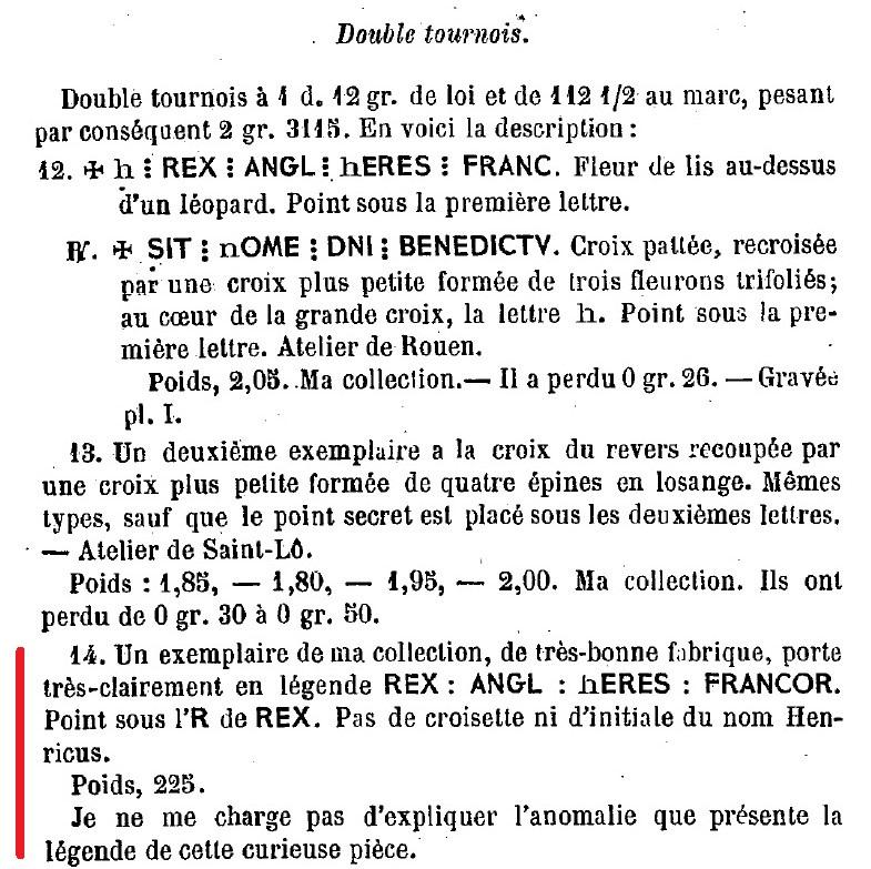 Henry V, Niquet ou Léopard de St Lô, vrai faux d'époque... Autres exemplaires à rechercher ! F_de_s10