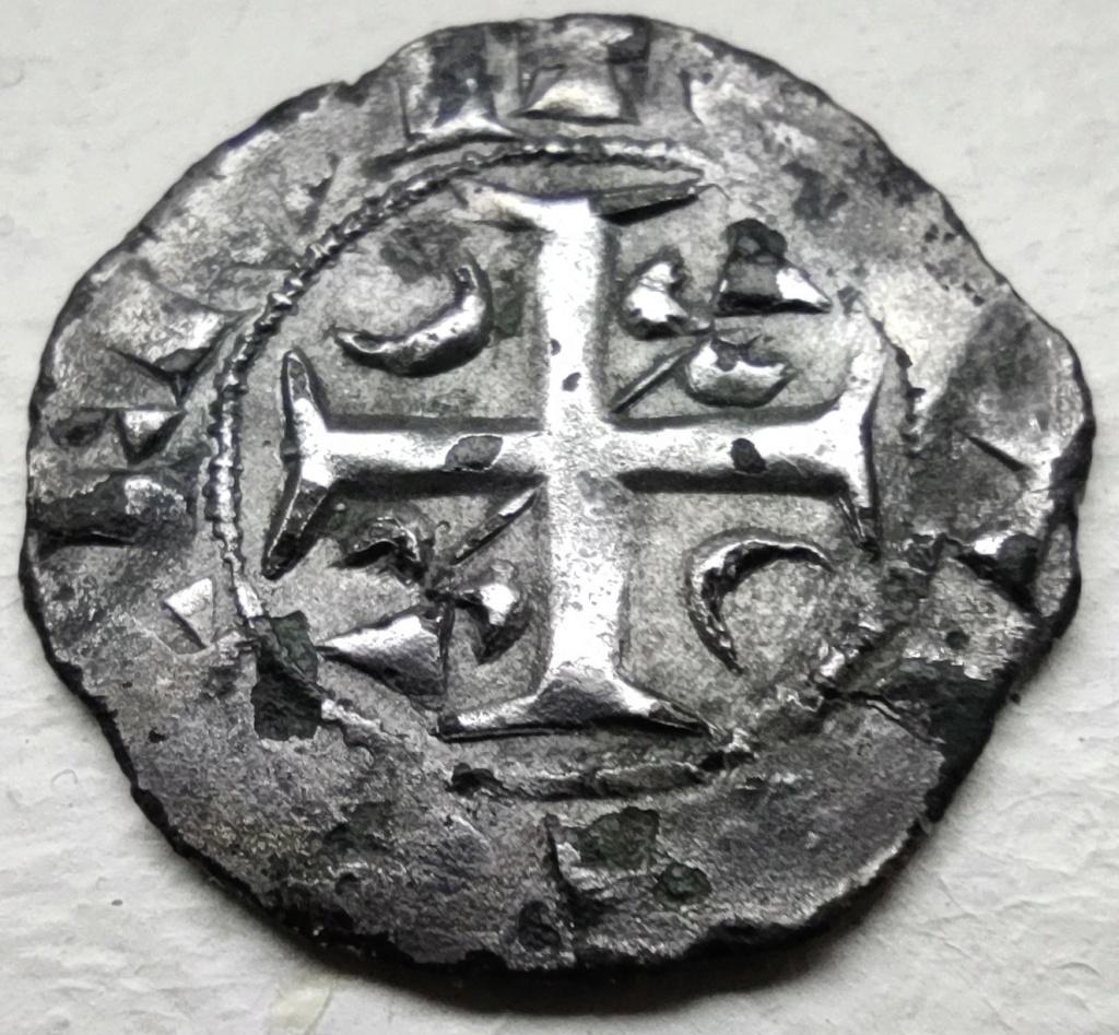 Denier champenois de l'archevéché de Reims pour Henri II (1227-1240) ... Face1110