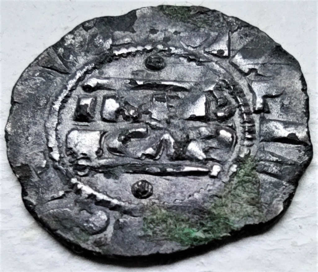 Denier champenois de l'archevéché de Reims pour Henri II (1227-1240) ... Face2110