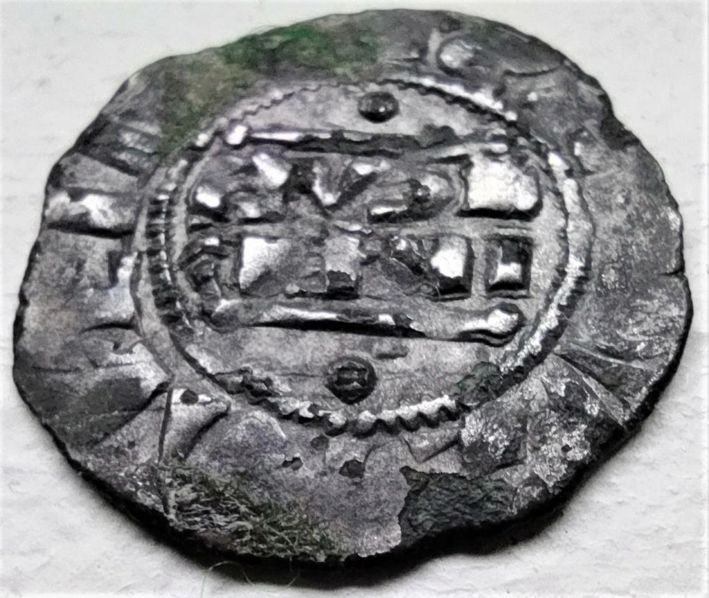 Denier champenois de l'archevéché de Reims pour Henri II (1227-1240) ... Face2210
