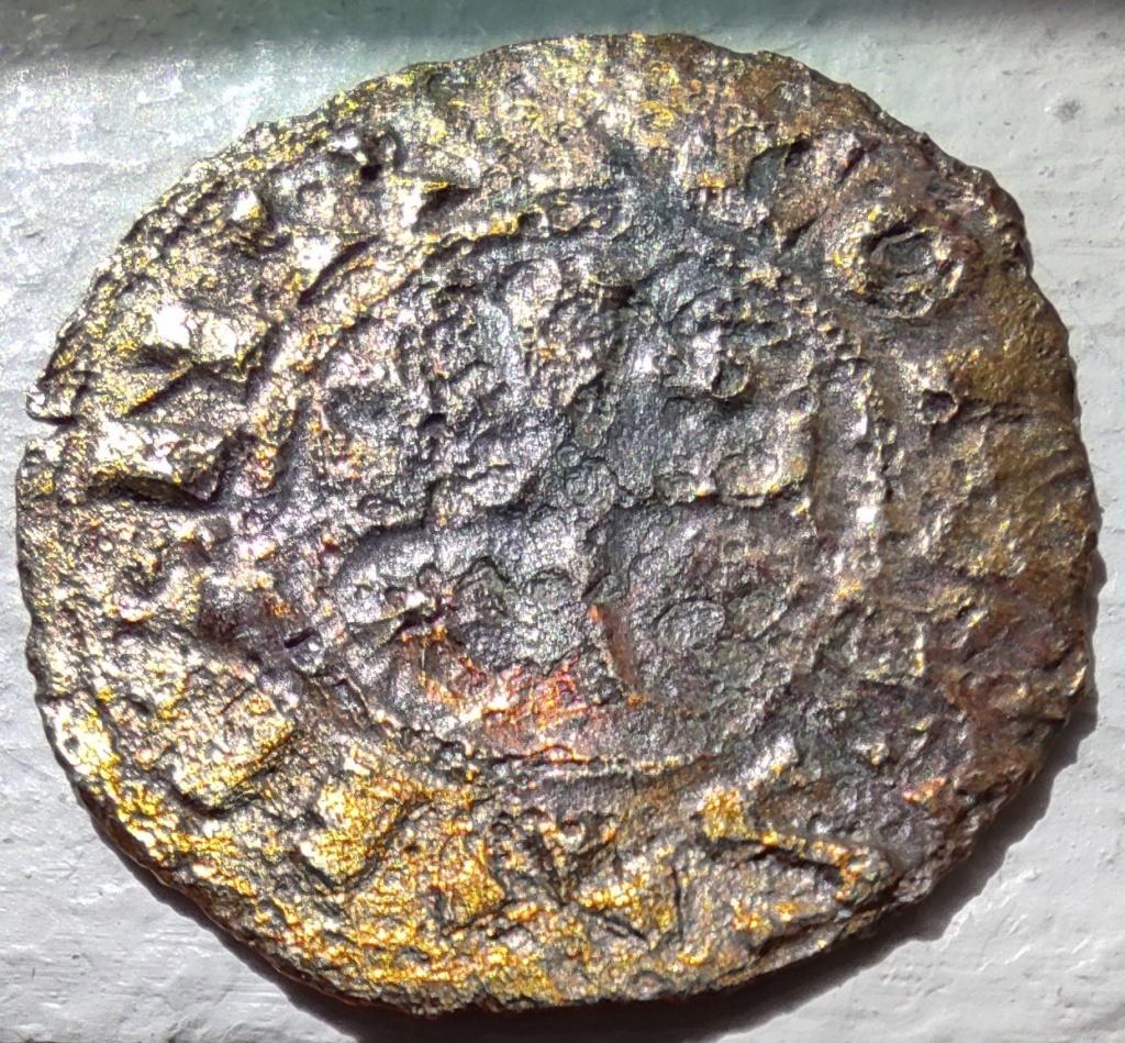Denier de Billon d'Henri II de Troyes 1180-1197 (PA 5954) Face_210