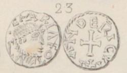 Trien méro d'Alleyrat (Elariaco) Corrèze (19), Landericvs monétaire ... Fillon11