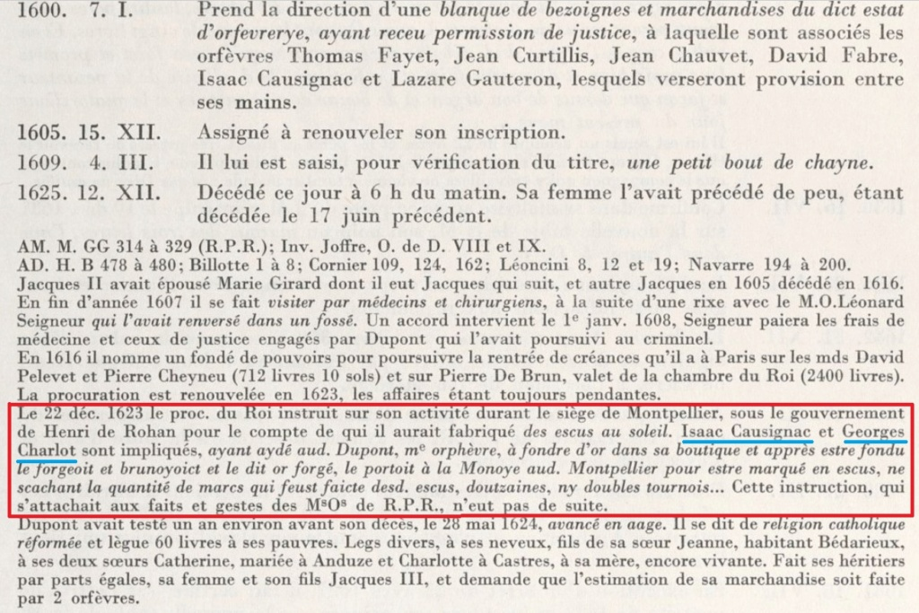 Identification des Différents d'un Douzain Louis XIII Huguenot Montpellier 1622 Contremarqué en 1640 Jacque10