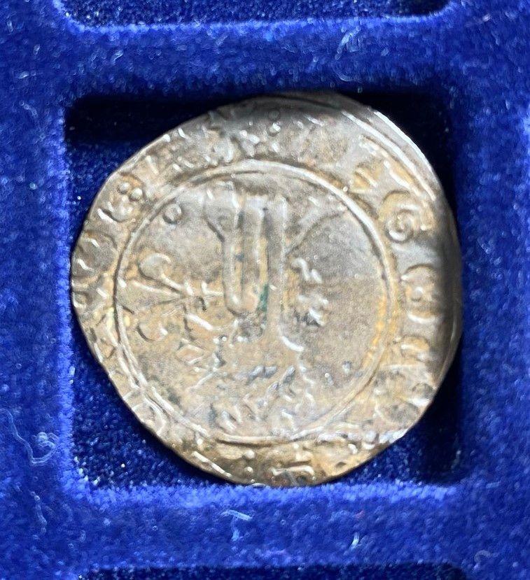 Henry V, Niquet ou Léopard de St Lô, vrai faux d'époque... Autres exemplaires à rechercher ! Lot_3812