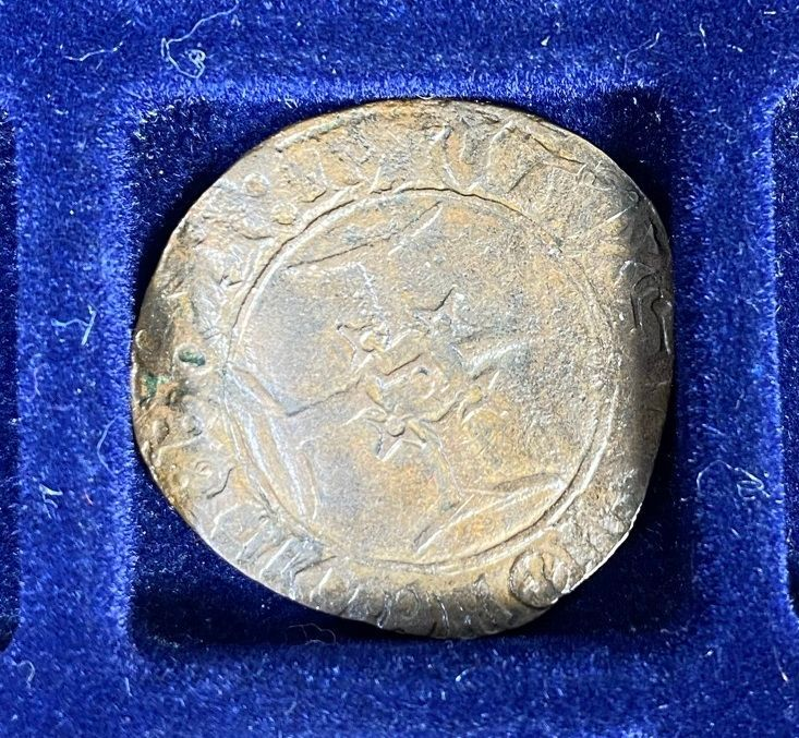 Henry V, Niquet ou Léopard de St Lô, vrai faux d'époque... Autres exemplaires à rechercher ! Lot_3813