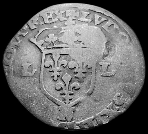 Identification des Différents d'un Douzain Louis XIII Huguenot Montpellier 1622 Contremarqué en 1640 Louis_13