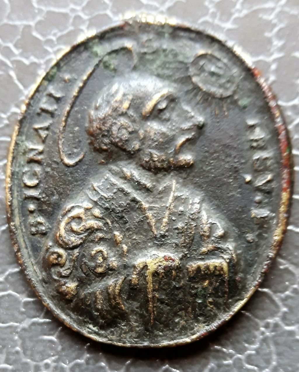 Médaille religieuse ancienne pour datation, SVP Mzodai10