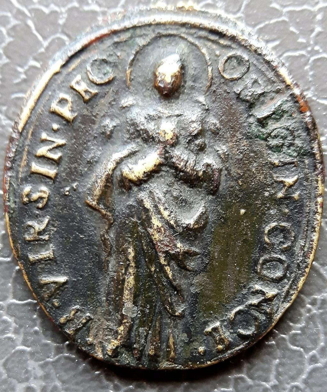 Médaille religieuse ancienne pour datation, SVP Mzodai11
