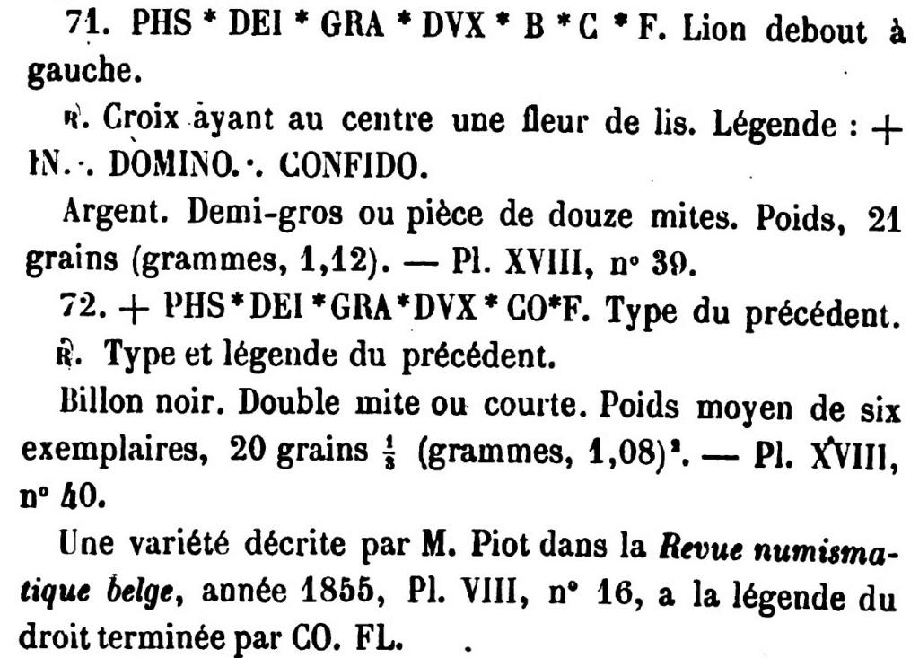 Double Mite de Philippe le Beau. Gand vers 1490 N72_de10