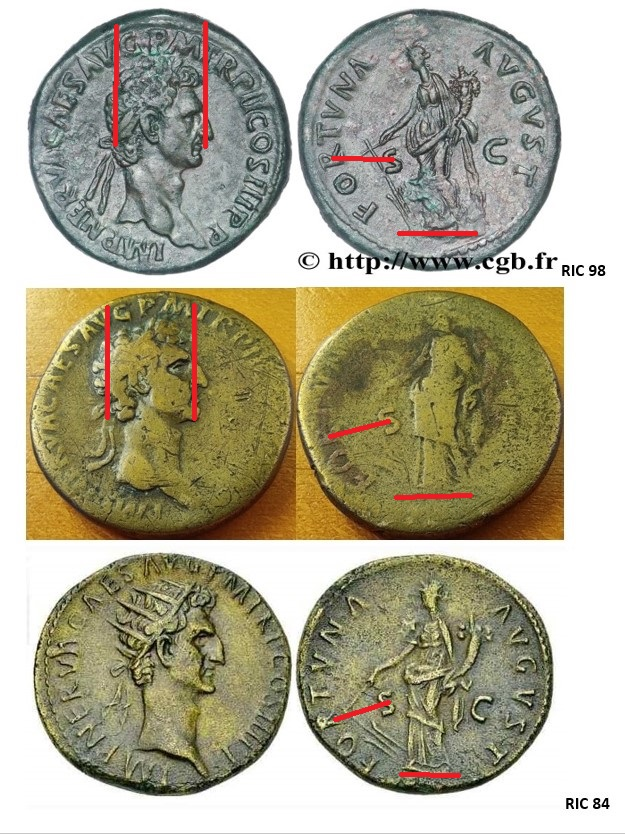 Sesterce de Nerva - FORTVNA - RIC 98 : Recherche même type de rubans ? Nerva_12