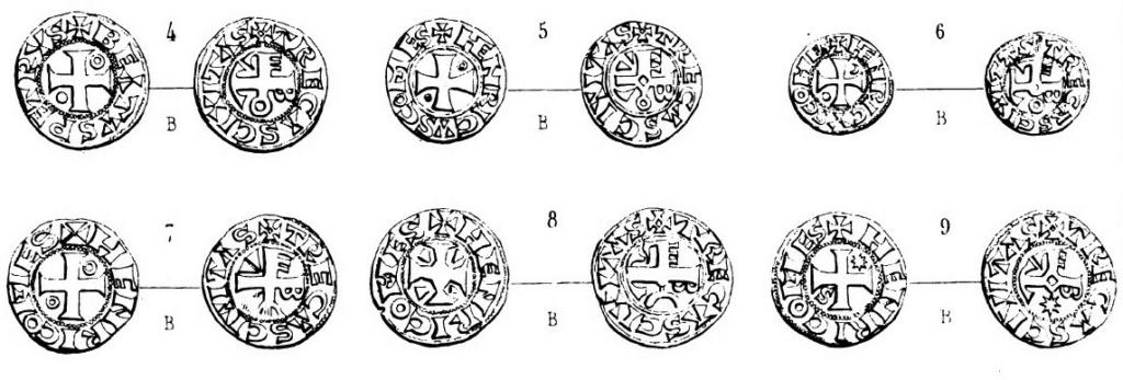 Denier de Billon d'Henri II de Troyes 1180-1197 (PA 5954) Pa_tom10