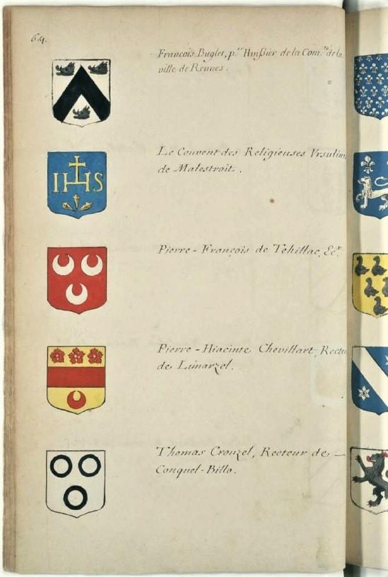 """Probablement petite broche ancienne, type """"héraldique"""", fin XVIIe - début XVIIIe Page_610"""