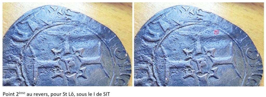 Henry V, Niquet ou Léopard de St Lô, vrai faux d'époque... Autres exemplaires à rechercher ! Point_10