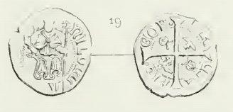 Double denier provençal, Archevêché d'Arles, famille Cibo ... Post-311