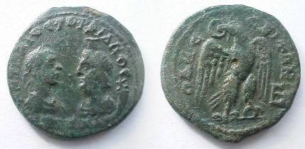 Possible intaille antique (pâte de verre) réemployée sur bague d'époque mérovingienne ? Pz5j8t10