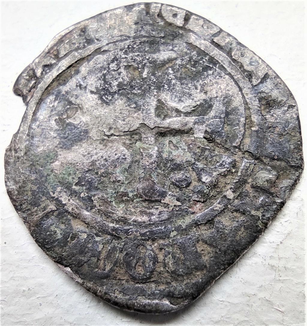 Blanc à la couronne de Louis XI, atelier à déterminer... R4_cla10