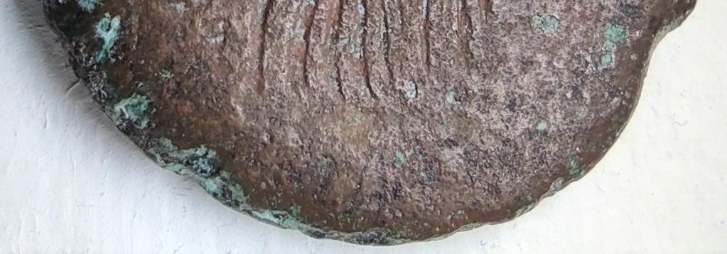 Probablement monnaie provinciale de Trajan, Alexandrie, an 14 du règne, au quadrige d'éléphants Revers20